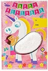Learning Resources Playfoam Birthday Unicorn Card, Replenishment Set of 4