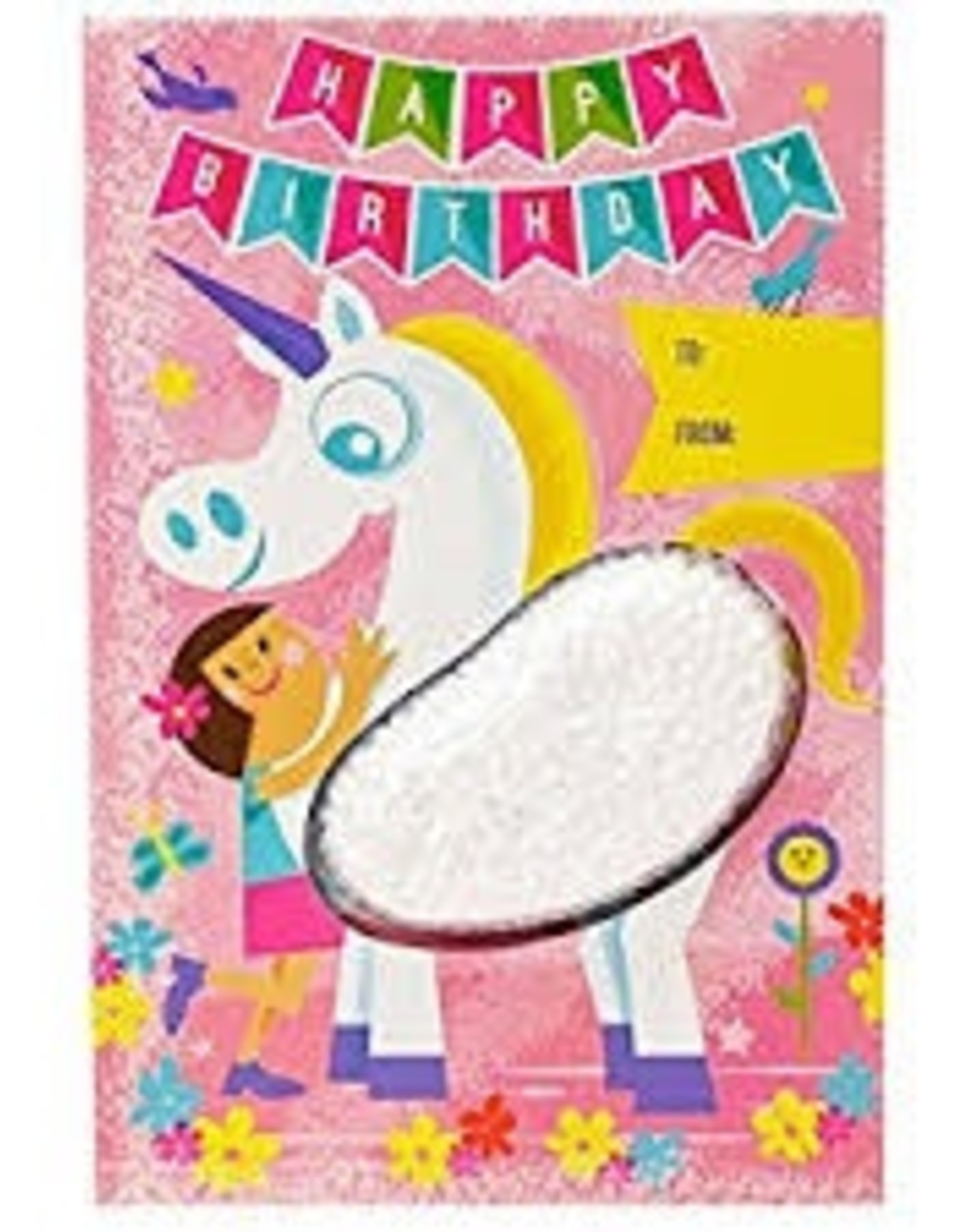 Learning Resources Playfoam Birthday Unicorn Card, Replenishment Set of 4