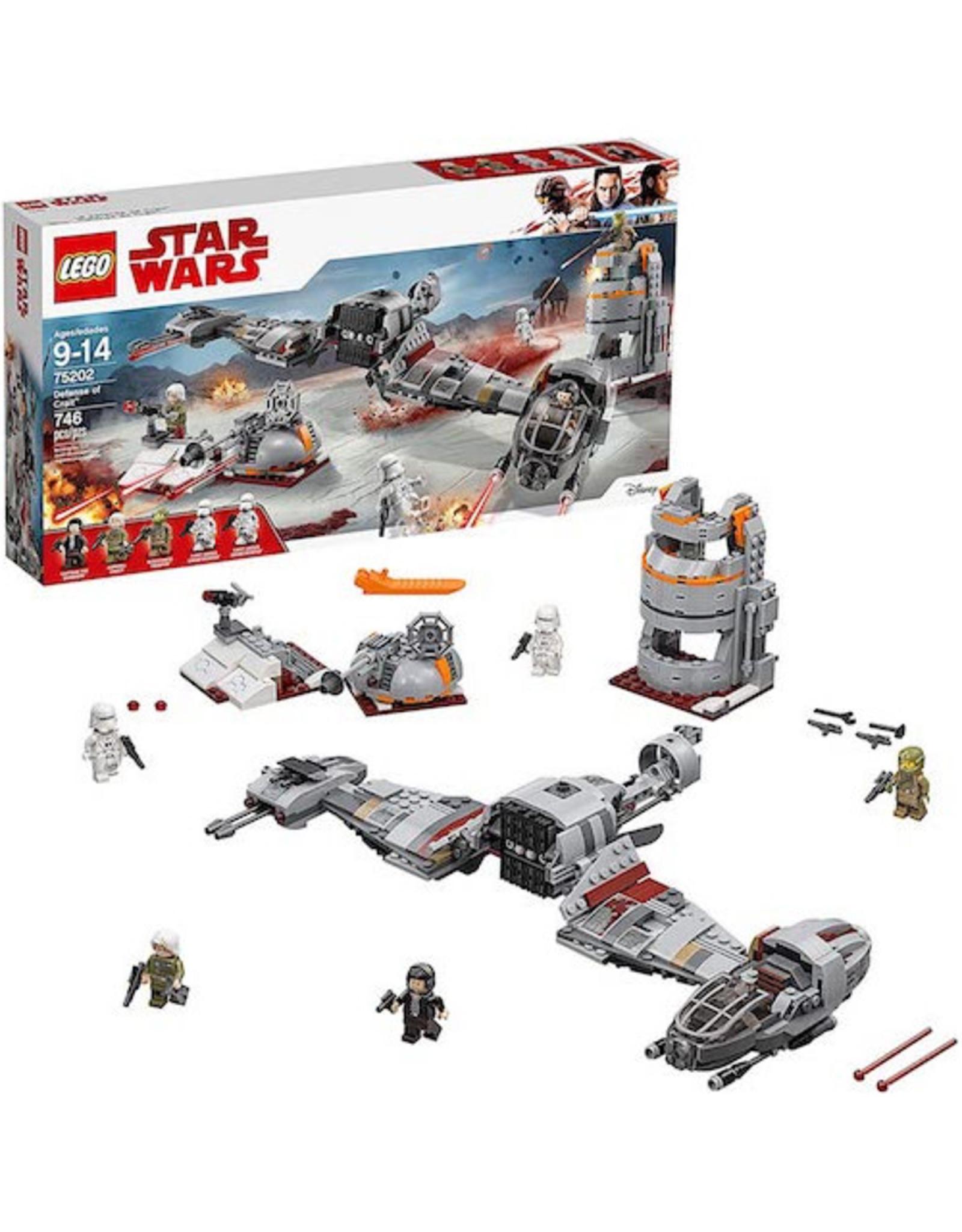 Lego Lego - Star Wars: The Last Jedi Defense of Crait 75202