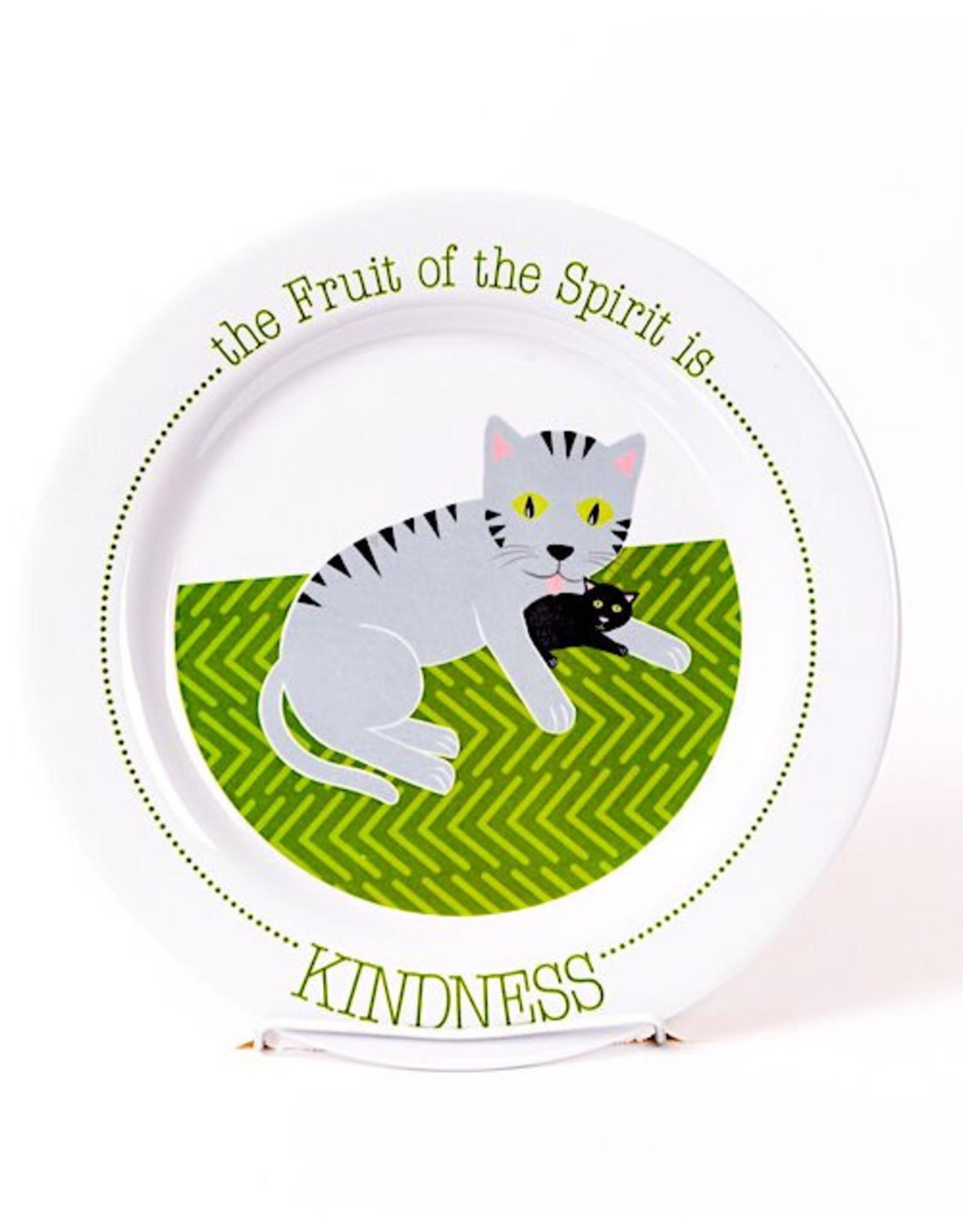 Fruit Full Kids Fruit of the Spirit Plate -
