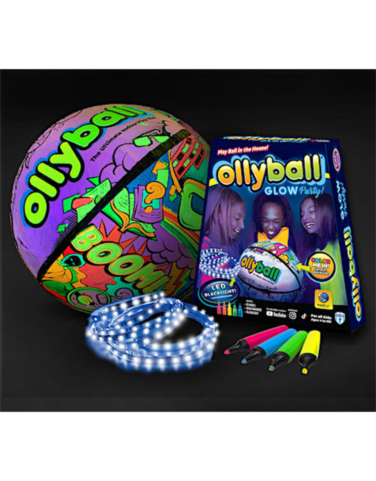 Ollyball Glow Party