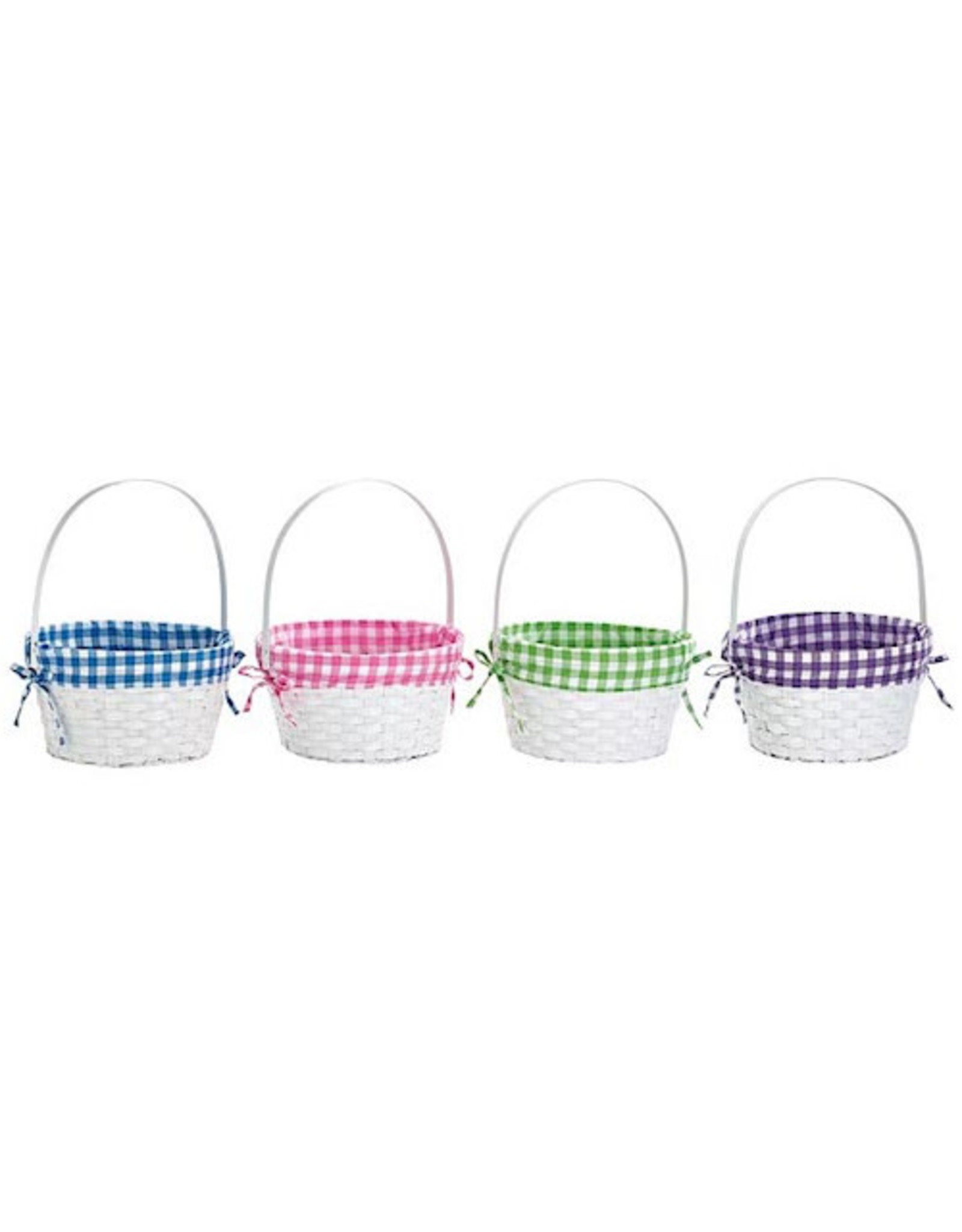 Burton & Burton Bamboo Basket Plaid