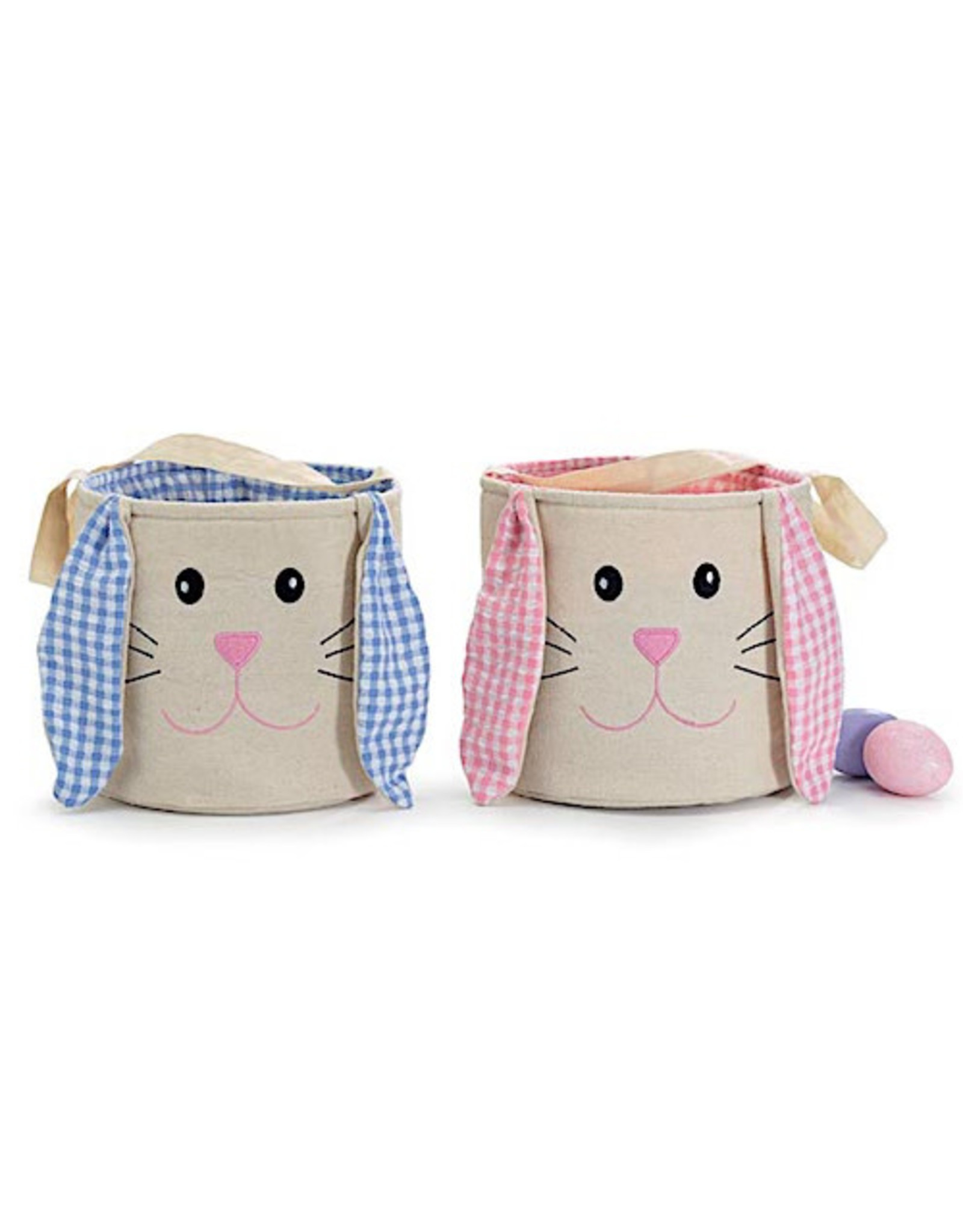 Burton & Burton Easter Gingham Bunny Bag