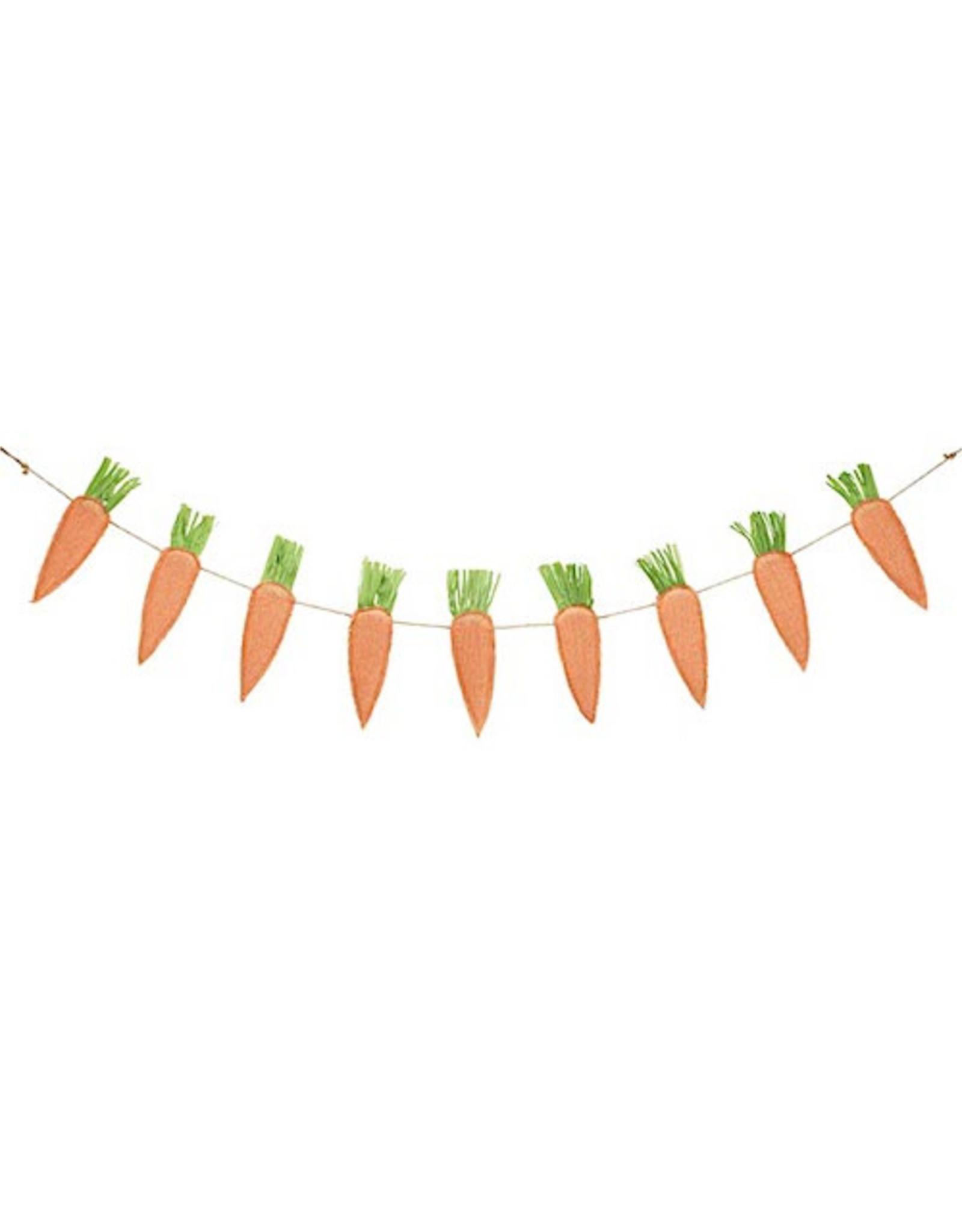 Burton & Burton Hanging Burlap Carrots
