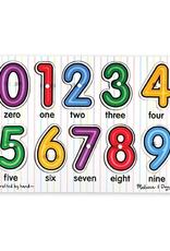 Melissa & Doug See-Inside Numbers Peg Puzzle