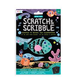 Ooly Mini Scratch & Scribble Art Kit