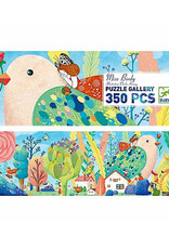 Djeco Miss Birdy 350pc Gallery Jigsaw Puzzle + Poster