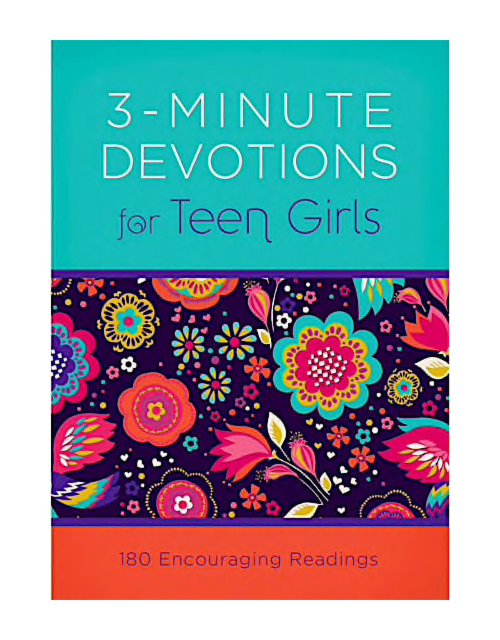 Barbour Publishing 3 Minute Devotions