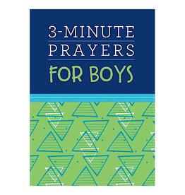 Barbour Publishing 3 Minute Prayers