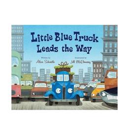 Houghton Mifflin LITTLE BLUE TRUCK LEADS THE WAY BB REV