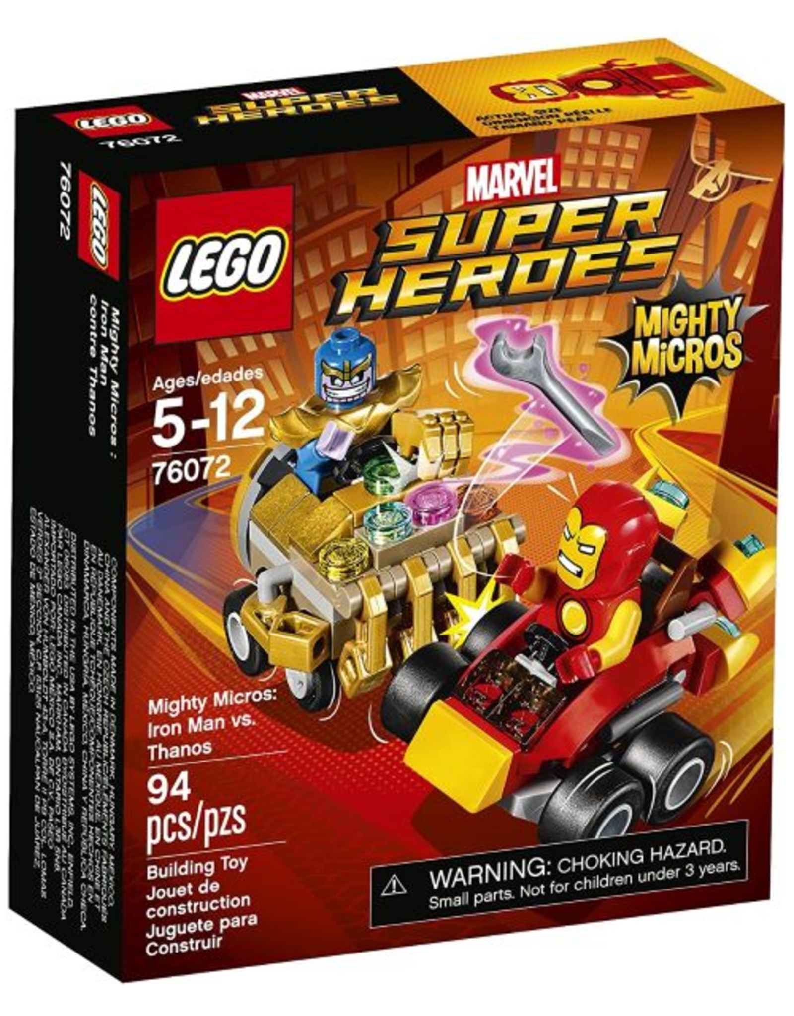 Lego Iron Man vs Thanos