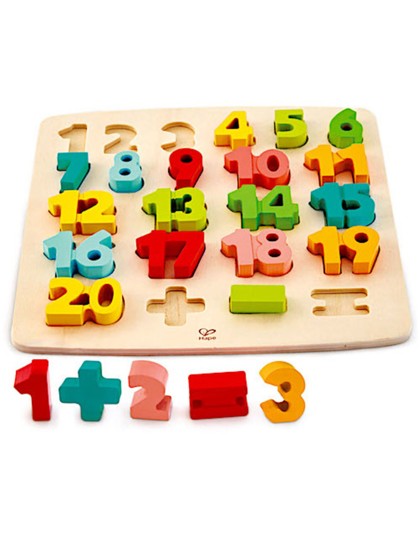 Hape Chunky Number Math Puzzle