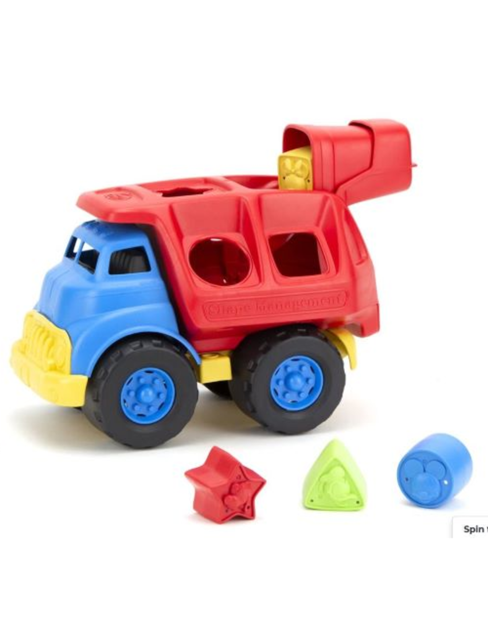 Green Toys Mickey Mouse Shape Sorter Truck