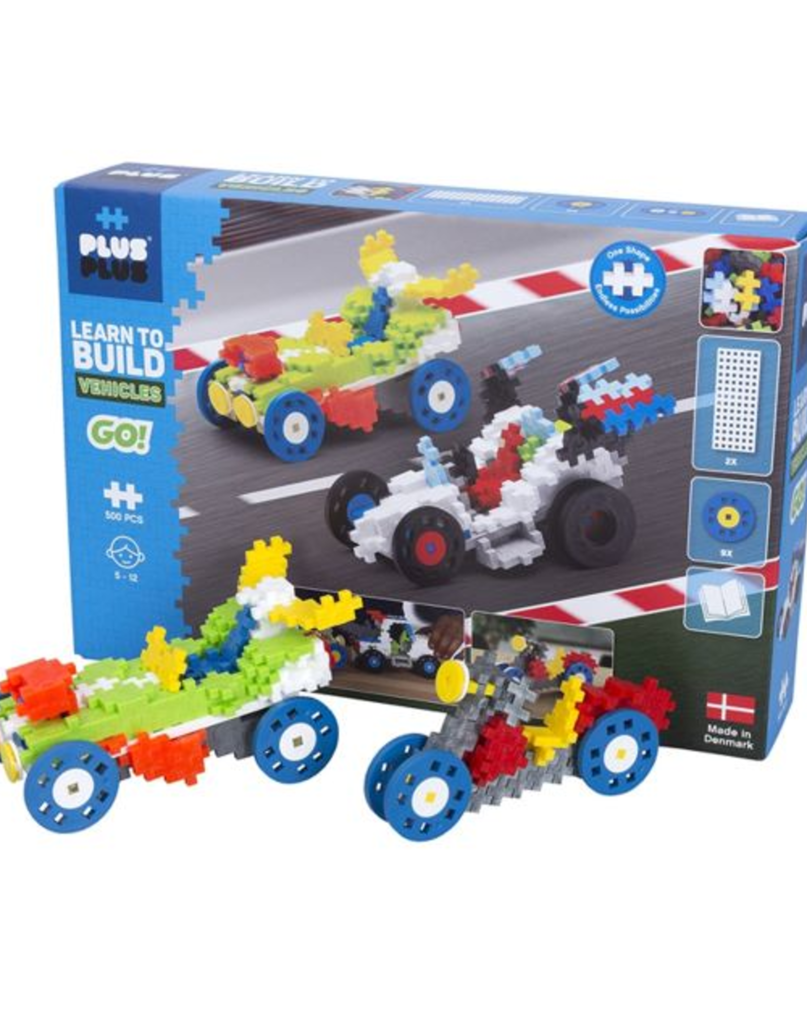 Plus-Plus Learn to Build Vehicles