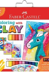 Faber Castell Do Art Coloring with Clay Unicorn & Friends