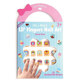 Girl Nation Lil' Fingers Nail Art