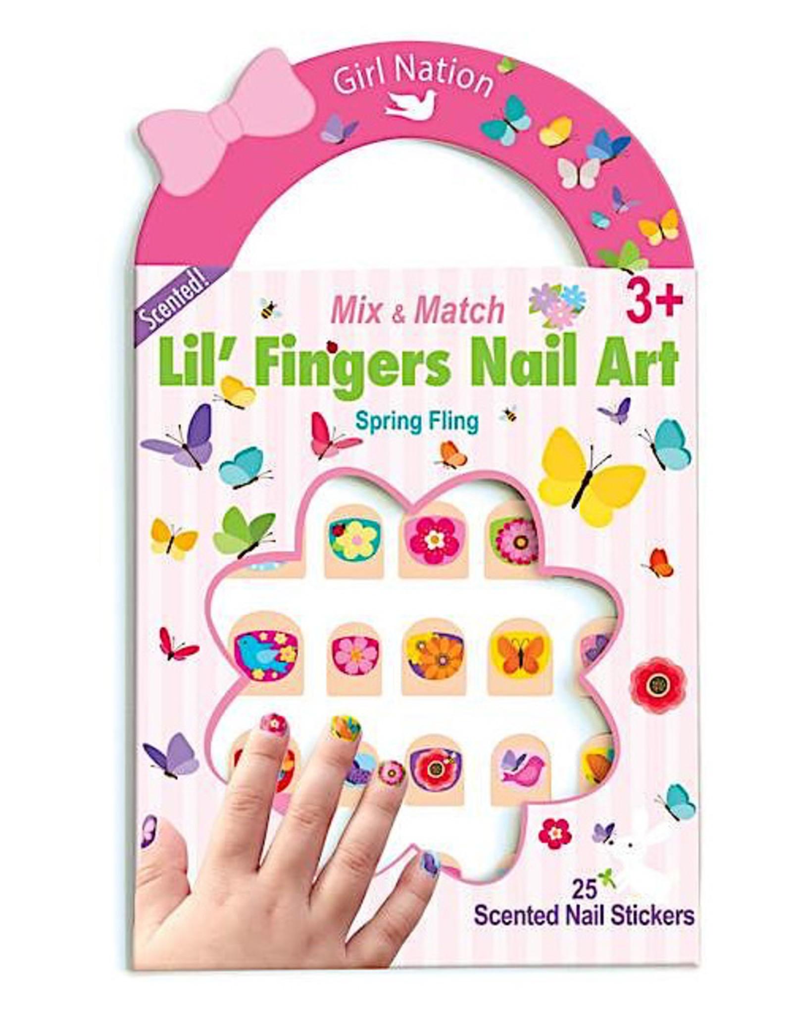 Girl Nation Lil' Fingers Nail Art