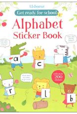 Usborne Alphabet Sticker Book
