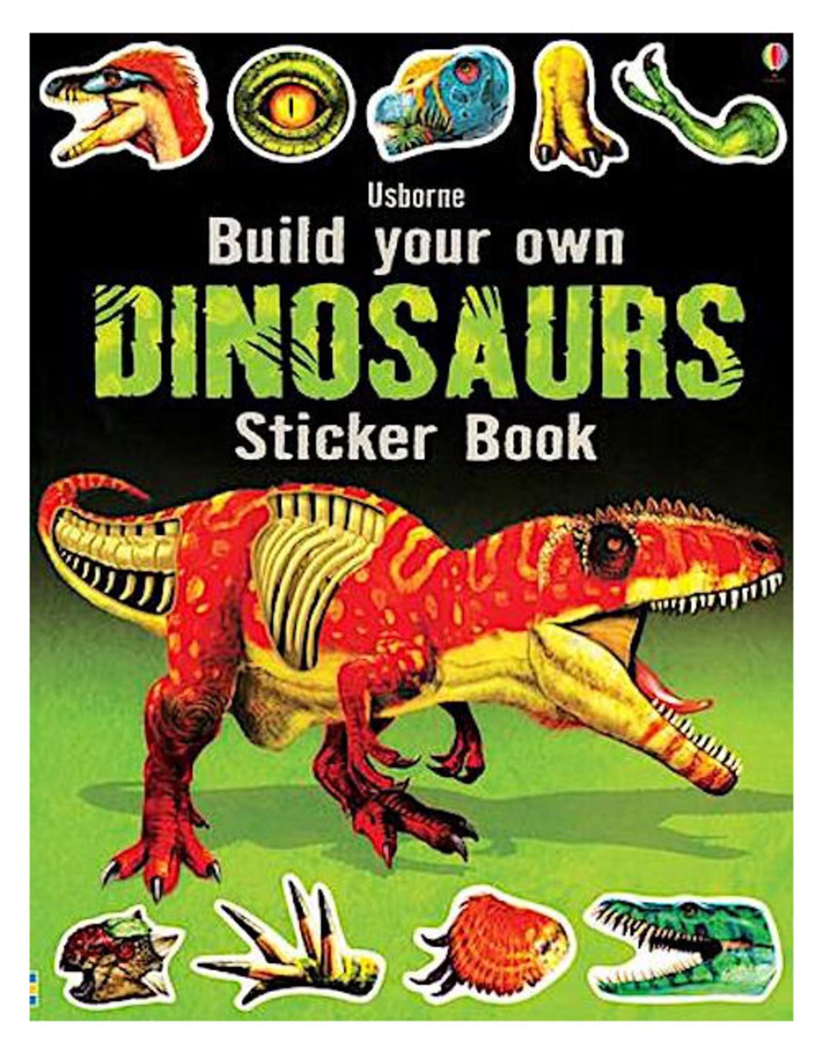 Usborne Build Your Own Dinosaurs Sticker Book
