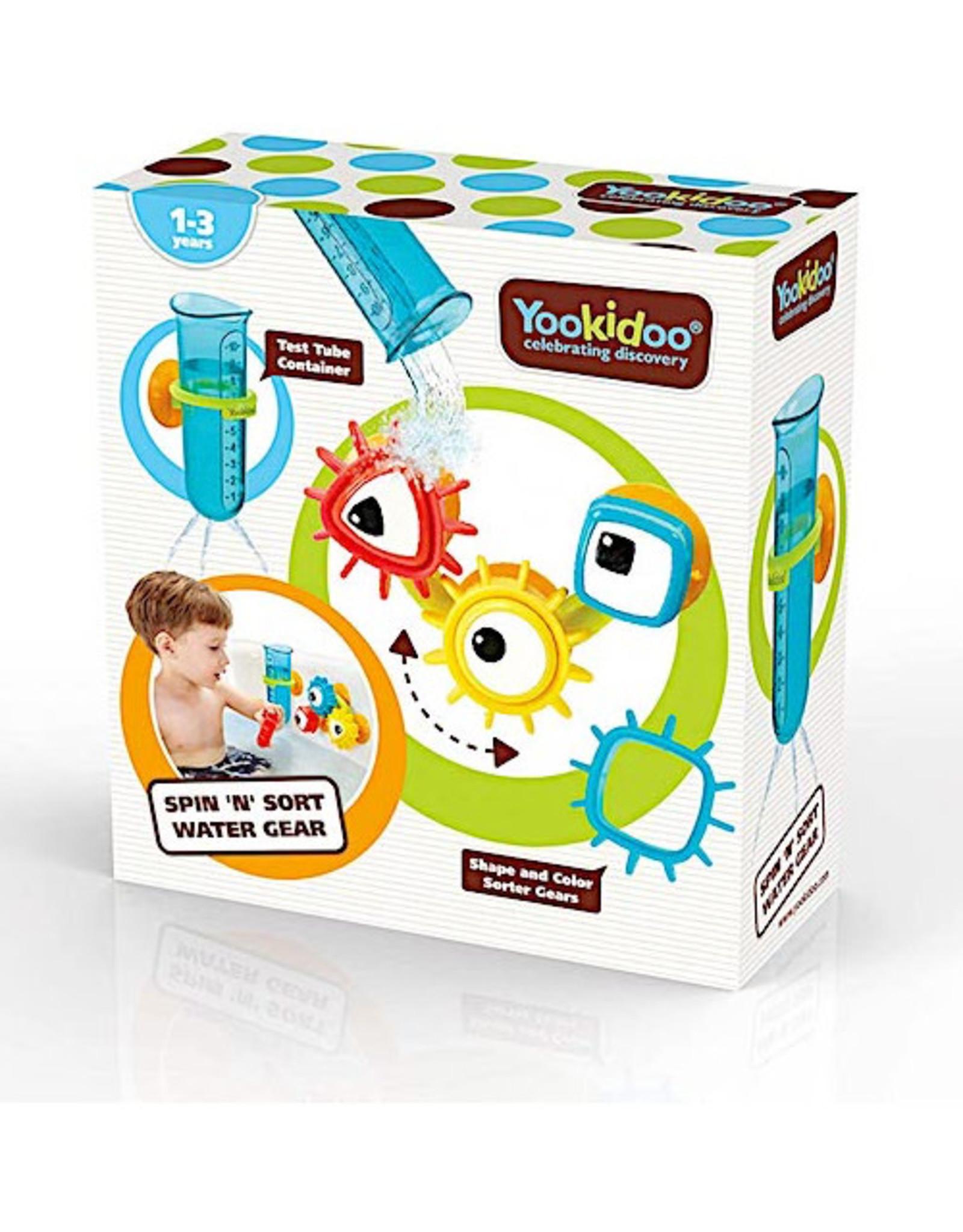 Yookidoo Spin N Sort Water Gear