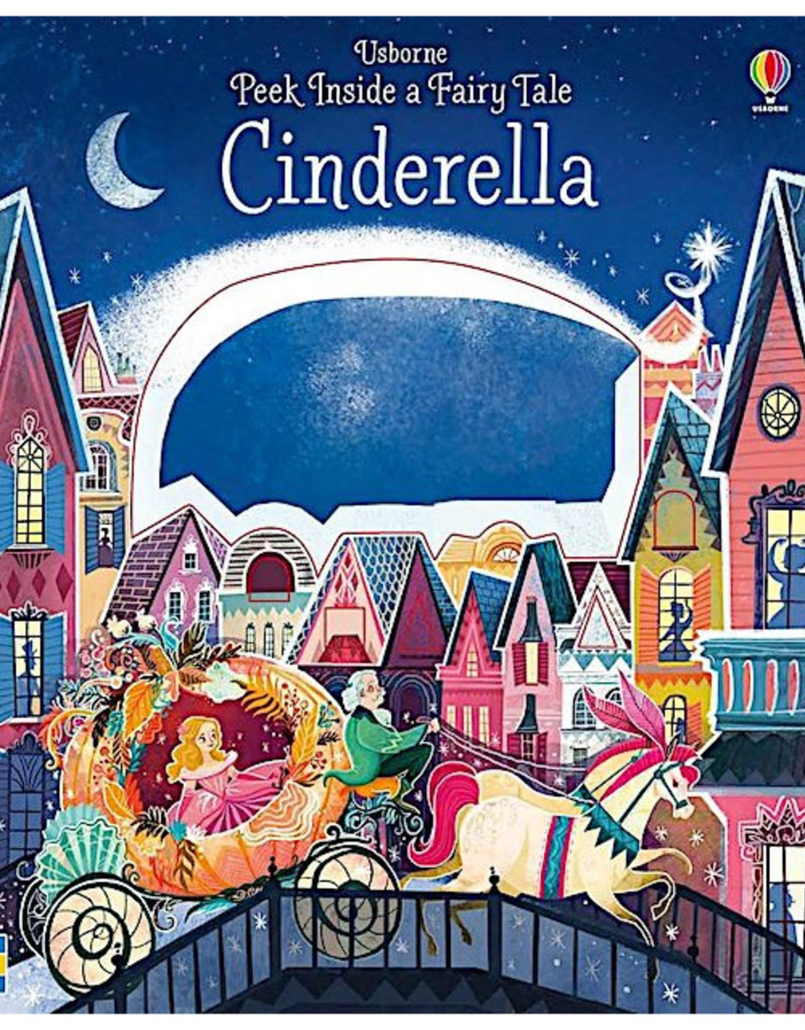 Usborne Peek Inside a Fairy Tale: Cinderella