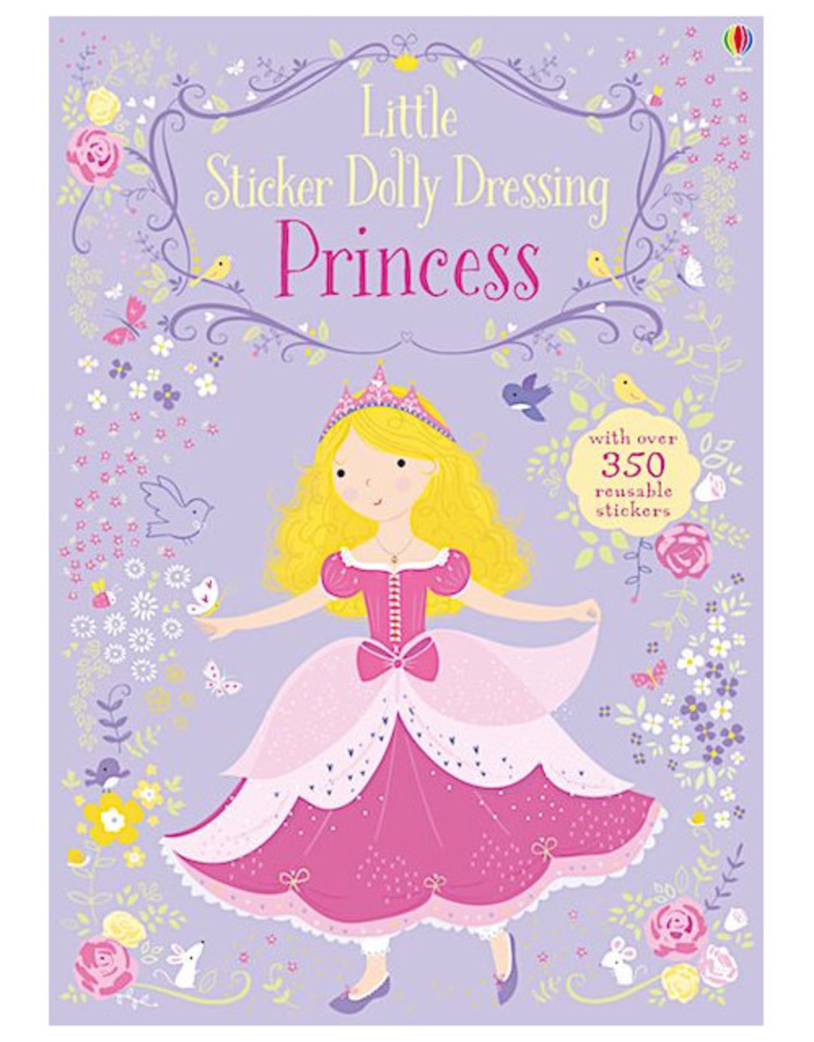 Usborne Little Sticker Dolly Dressing Princesses