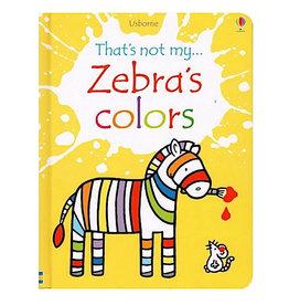 Usborne That's Not My Zebra's Colors