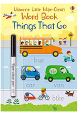Usborne Little Wipe-Clean Word Book:   Things That Go