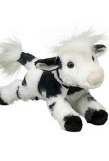 Douglas Toys Betsy Floppy Black & White Cow