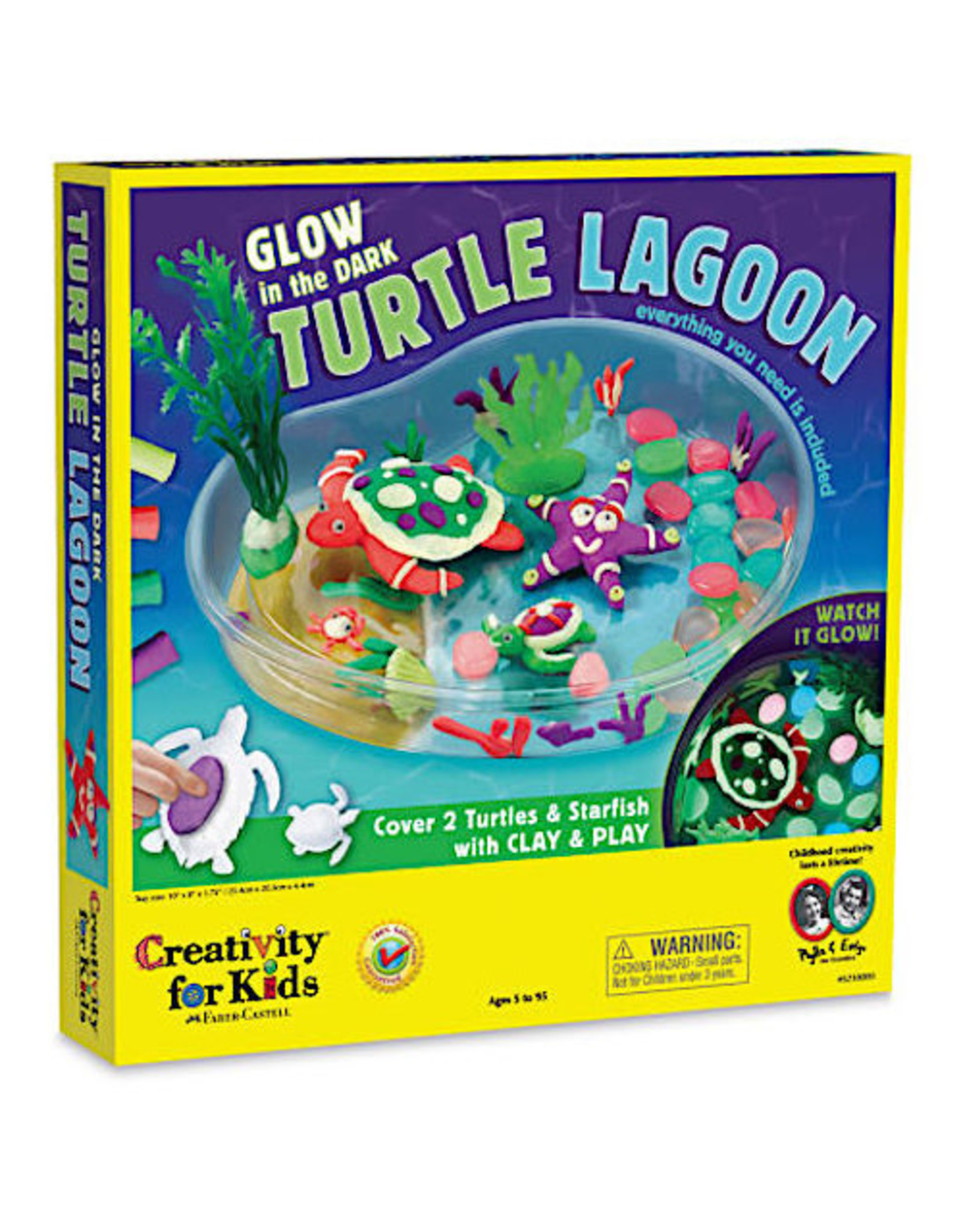 Faber Castell Glow in the Dark Turtle Lagoon