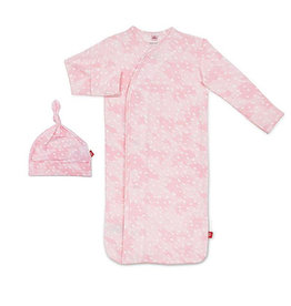Magnificent Baby Magnetic Gown and Hat
