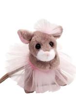 Douglas Toys Tippy Toe Mouse w/ Pink Tutu
