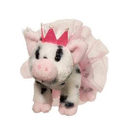 Douglas Toys Loretta Pig w/Crown