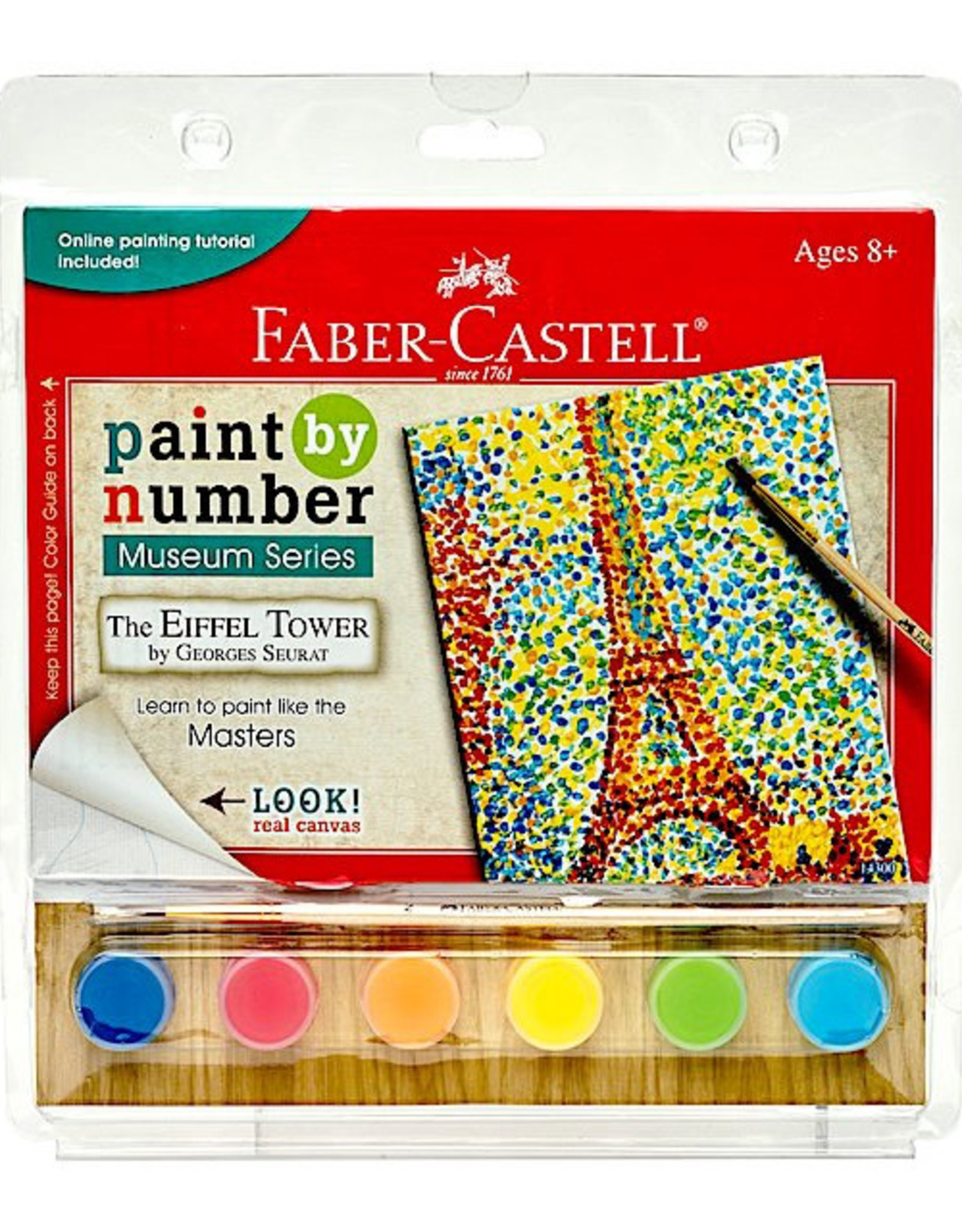 Faber Castell Paint By Number Museum Series-The Eiffel Tower