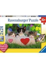 Ravensburger Sleepy Kitten (2X24)