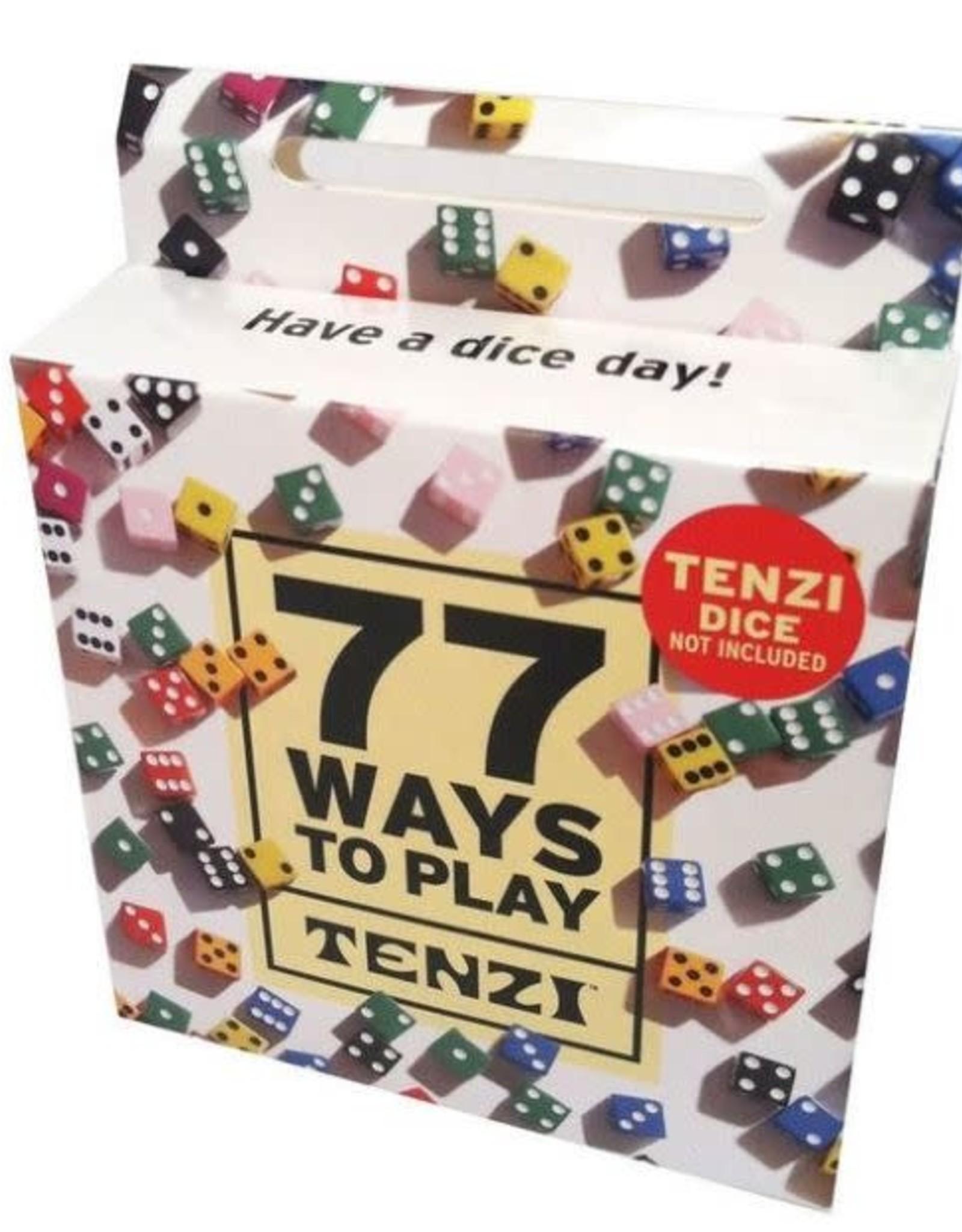 77 Ways to Play Tenzi Cards