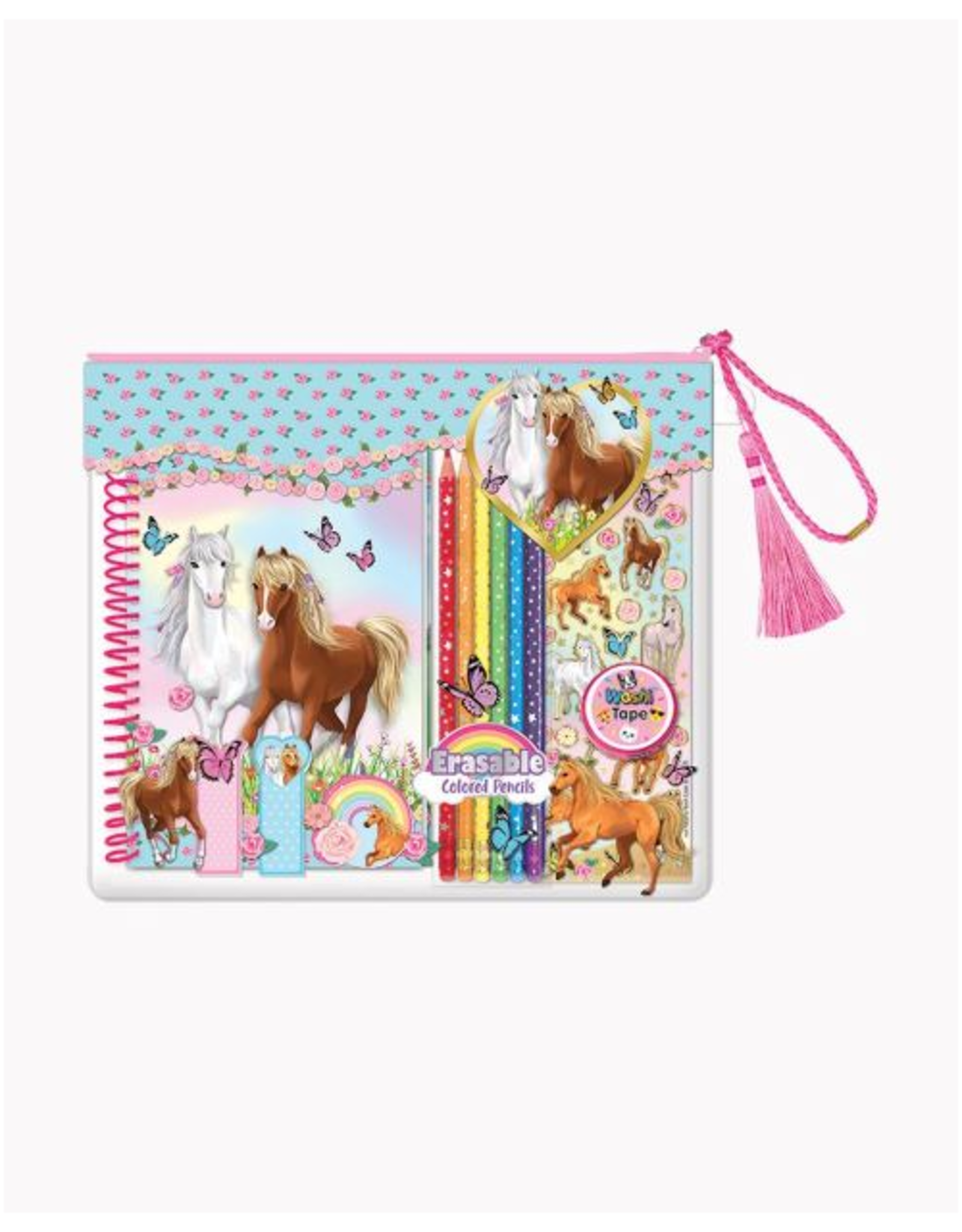 Hot Focus Coloring Journal, Majestic Horse