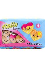 Iscream Box Of Waffles Fleece Pillow