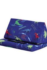 Iscream Dinosaur Tracks Tablet Pillow