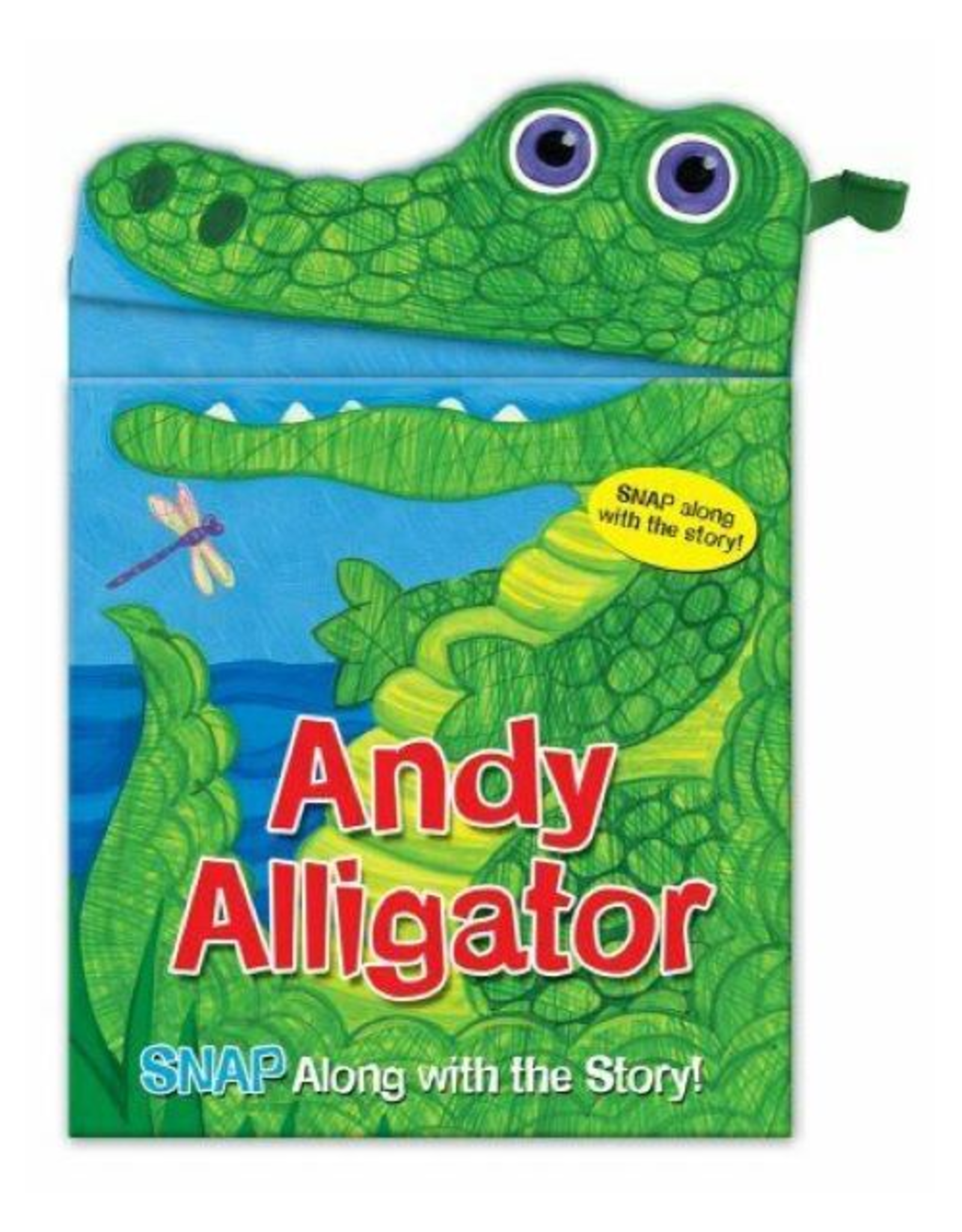 Snappy Heads Andy Alligator