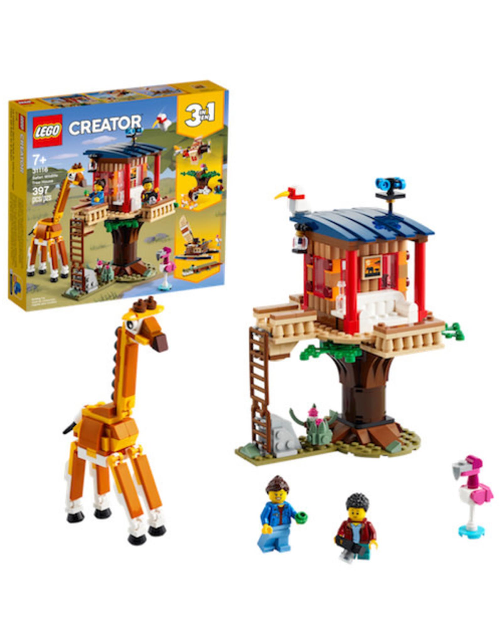 Lego Safari Wildlife Treehouse