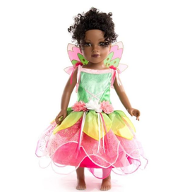 Little Adventures Doll Dress Springtime Fairy with Wings