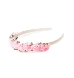 Little Adventures Flower Headband Pink