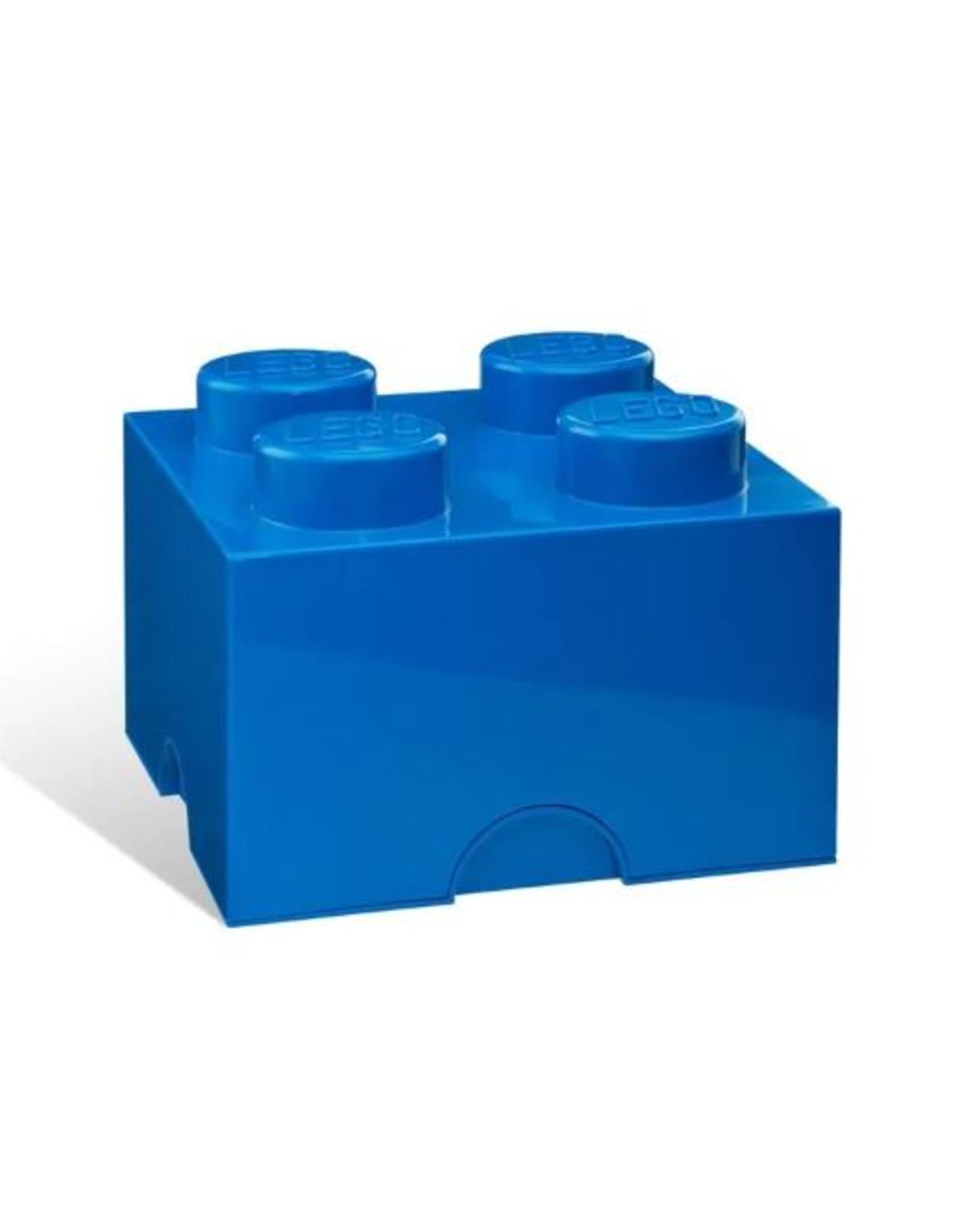 Lego LEGO STORAGE Brick 4 Bright Blue