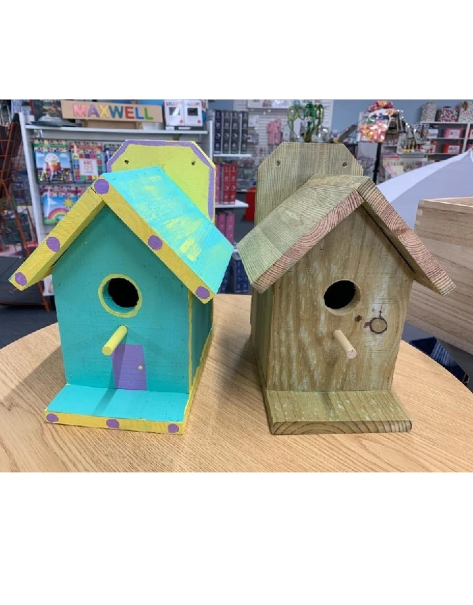 Craft Day Ticket- Birdhouse