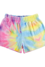 Iscream Pastel Tie Dye Plush Shorts Large