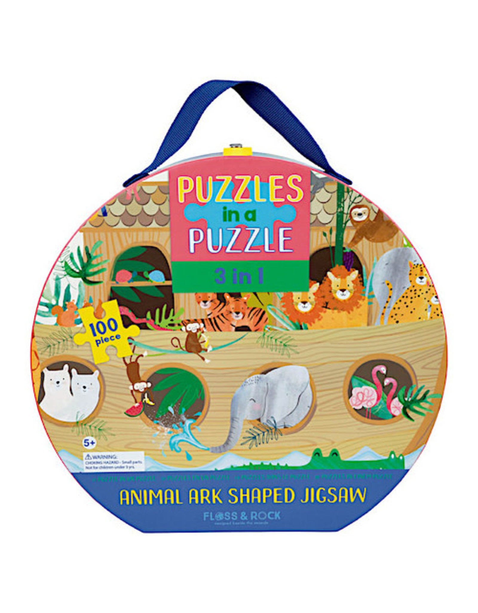 Floss & Rock 100 piece Puzzle in a Puzzle