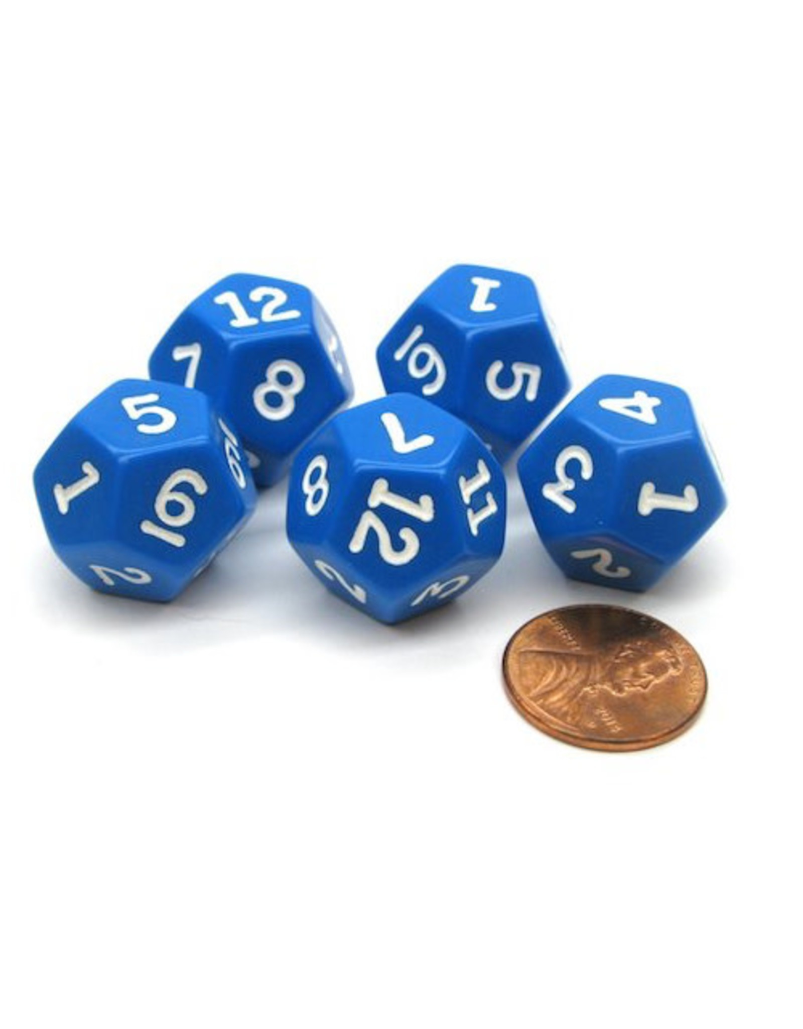 12 Sided Opaque Dice