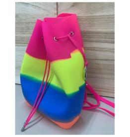 American Jewel Large Gummy Bucket Bag