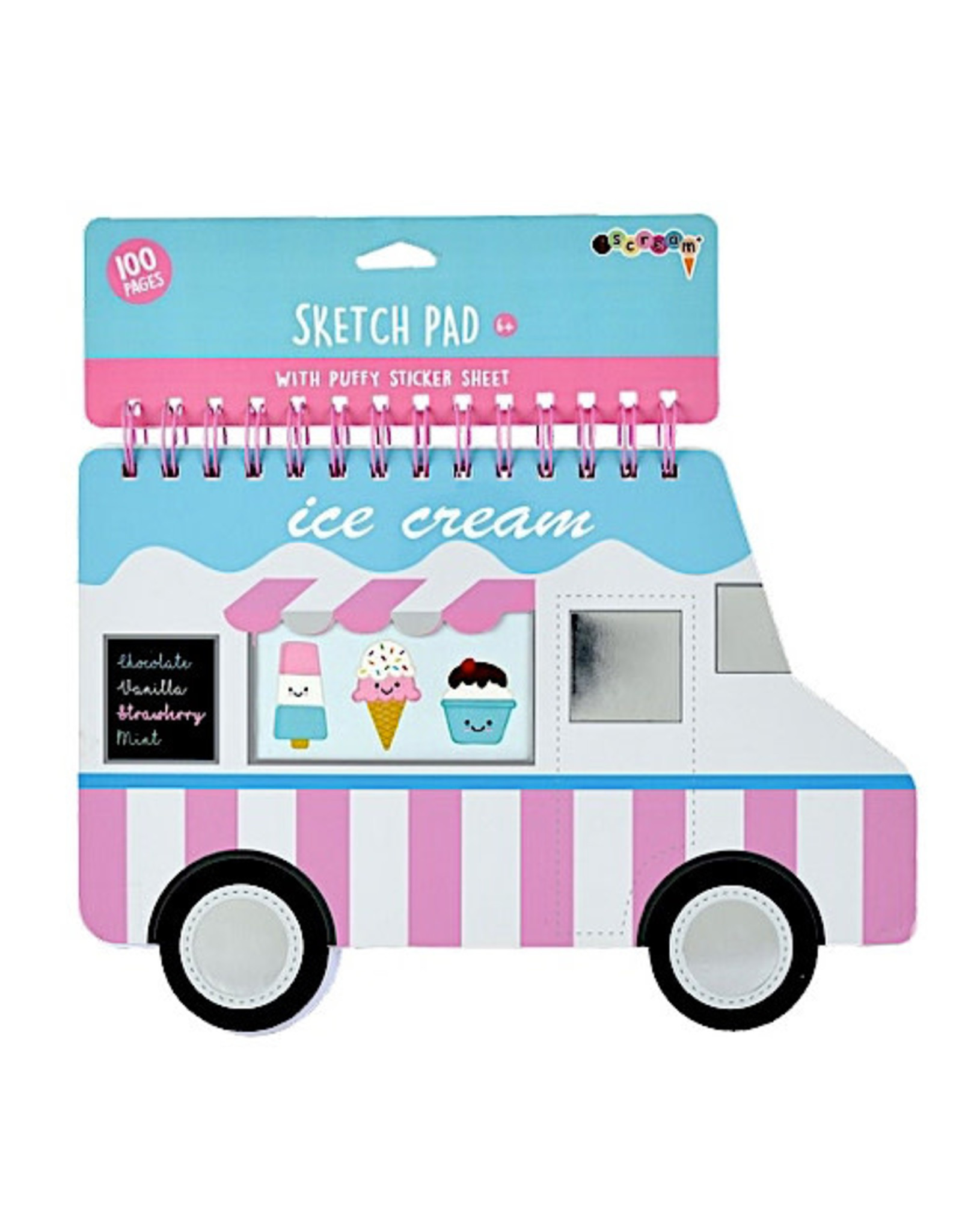 Iscream Ice Cream Truck Sketch Pads